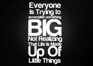 acomplish-something-big-life-made-up-of-little-things-quote-300x214[1]
