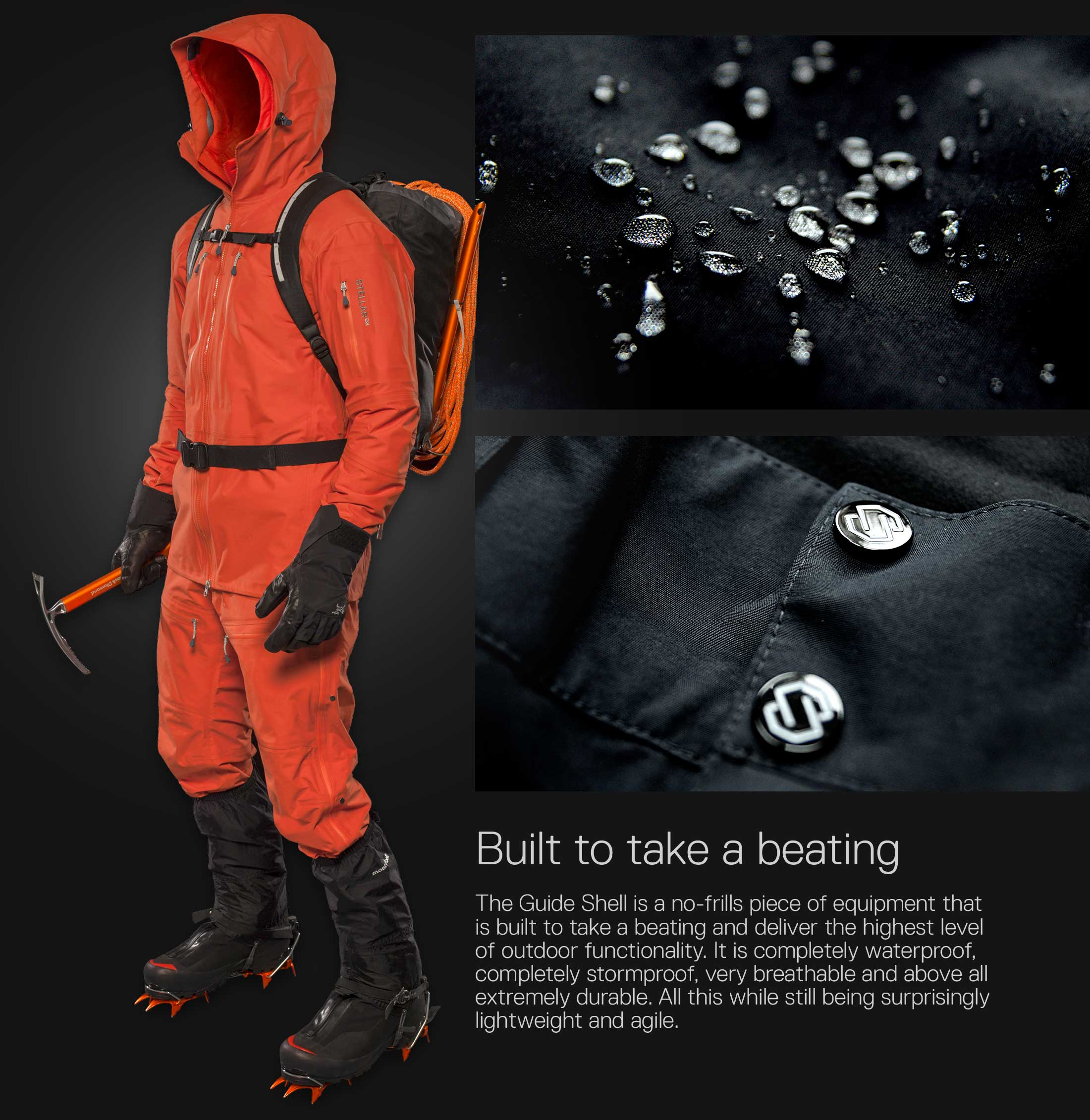 Stellar Equipment Shell Jacket